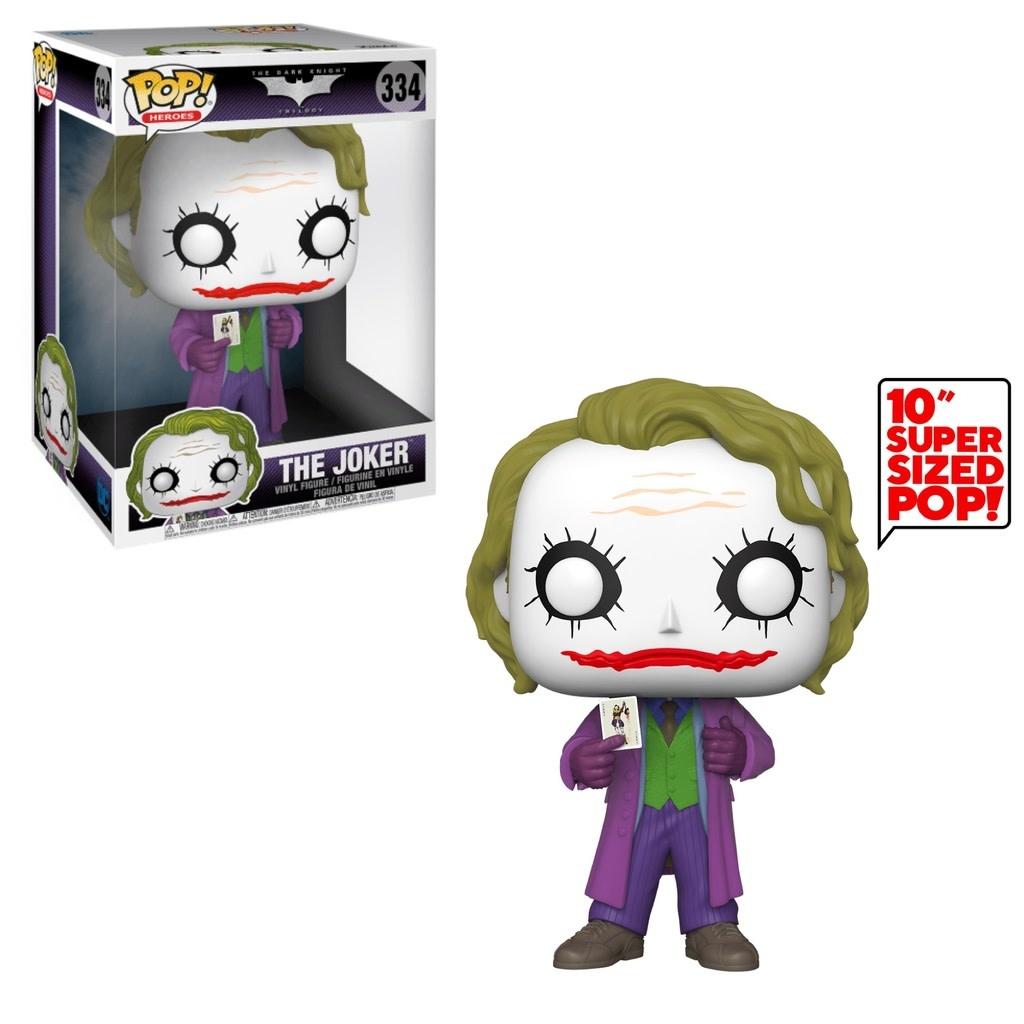"Funko POP! DC Heroes The Dark Night The Joker 10"" Super Sized #334"