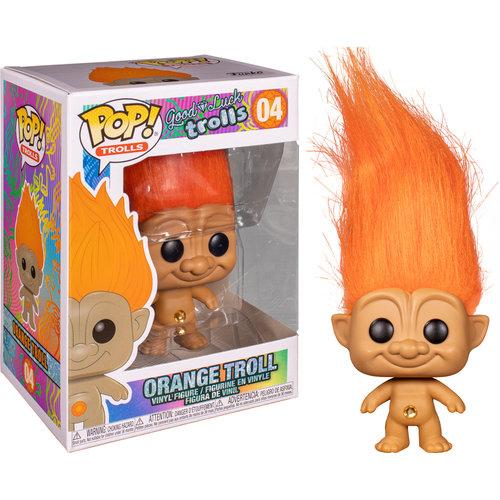 Funko POP! Good Luck Trolls Orange Troll #04