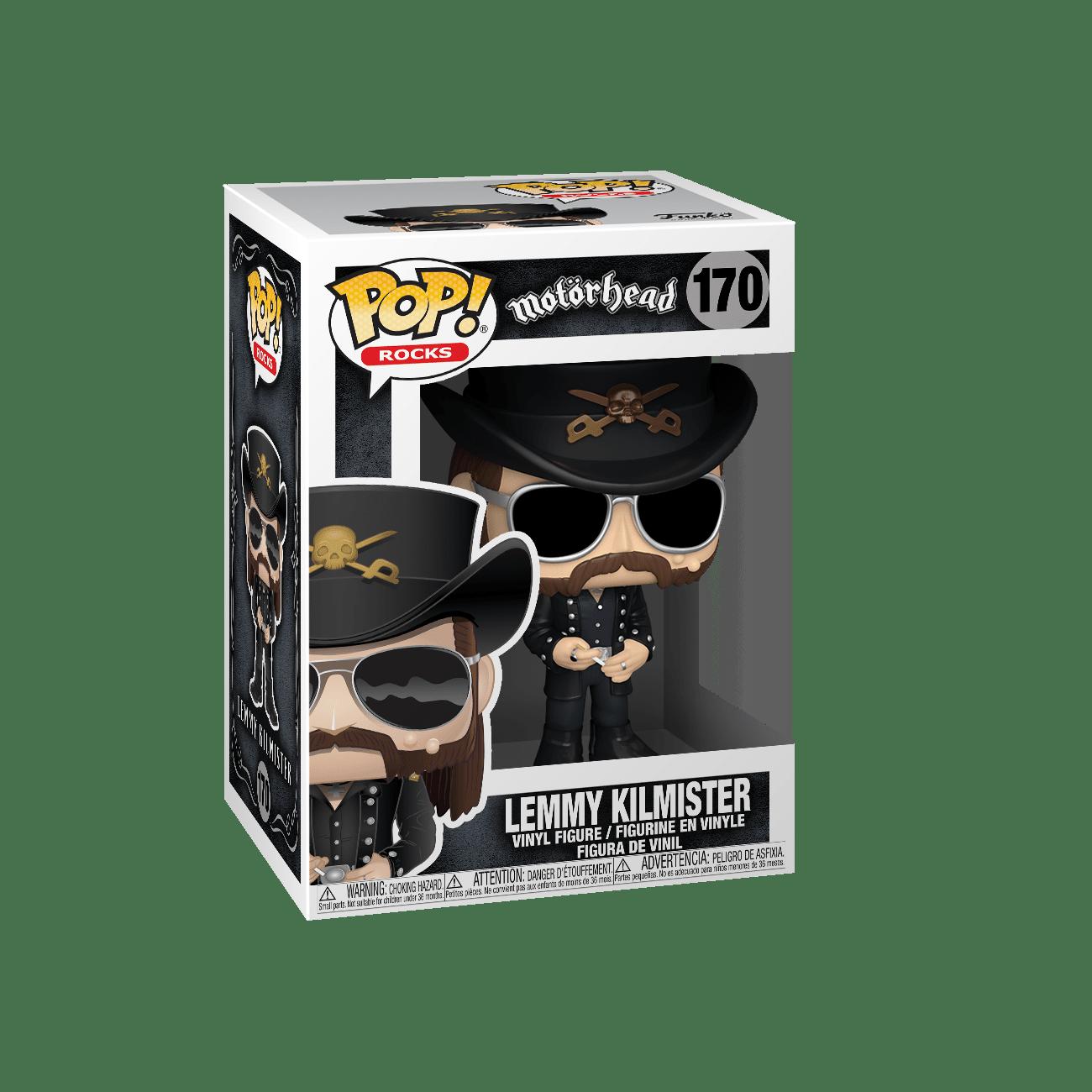Funko! Pop Rocks Motorhead Lemmy Kilmister #170
