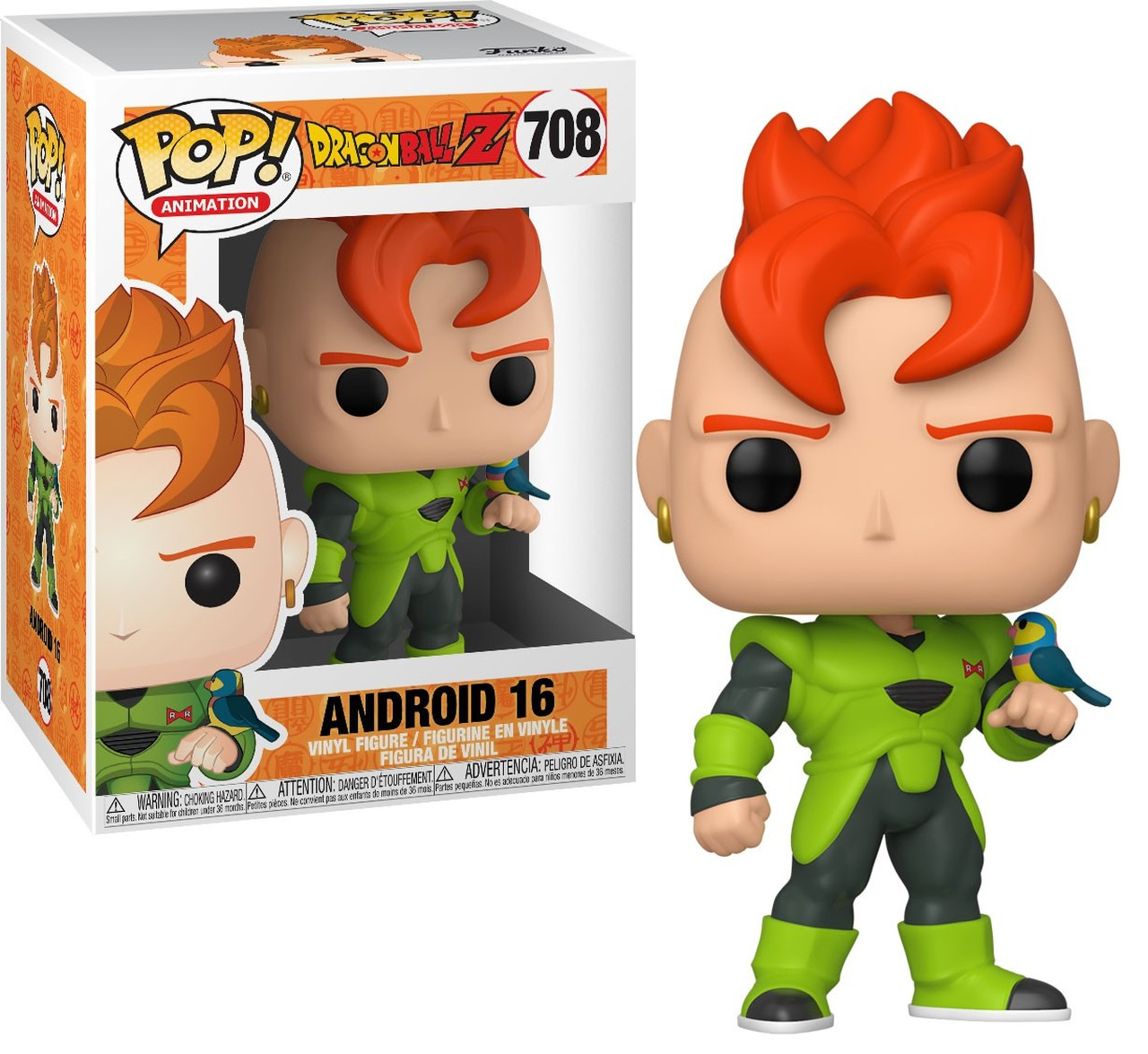 Funko POP! Dragon Ball Z Android 16 #708