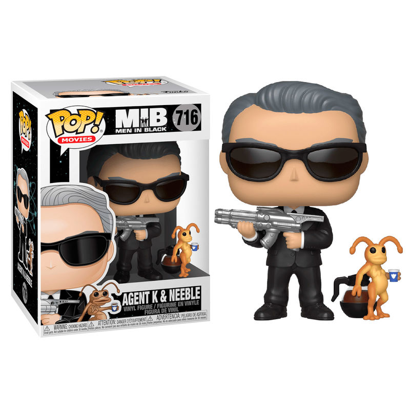 Funko! Pop Men in Black Agent K & Neeble