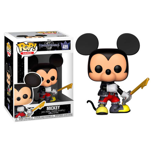 Funko POP! Disney Kingdom Hearts Mickey #489