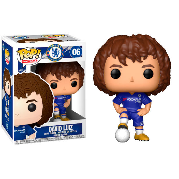 Funko Pop! Football Chelsea David Luiz