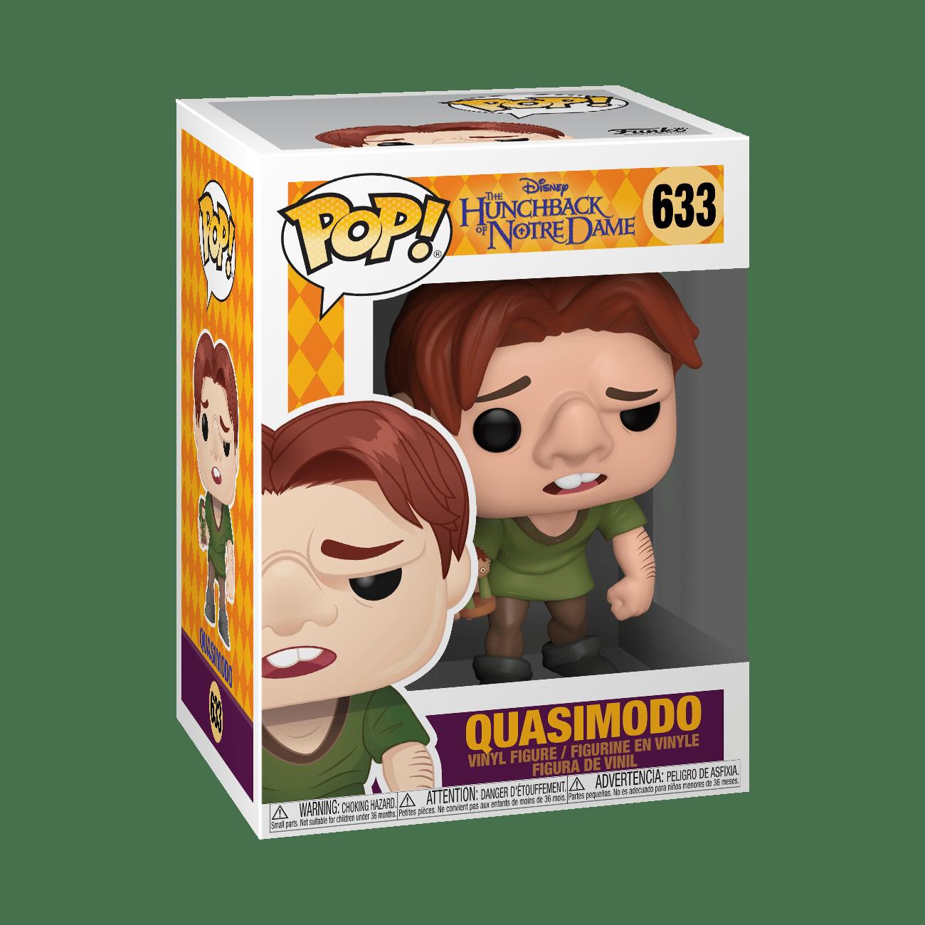Funko! Pop Disney The Hunchback Of Notre Dame Quasimodo #633
