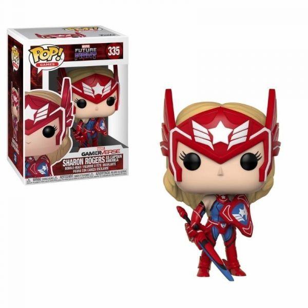 Funko! Pop Marvel GamerVerse Future Fight Sharon Rogers as Captain America #335