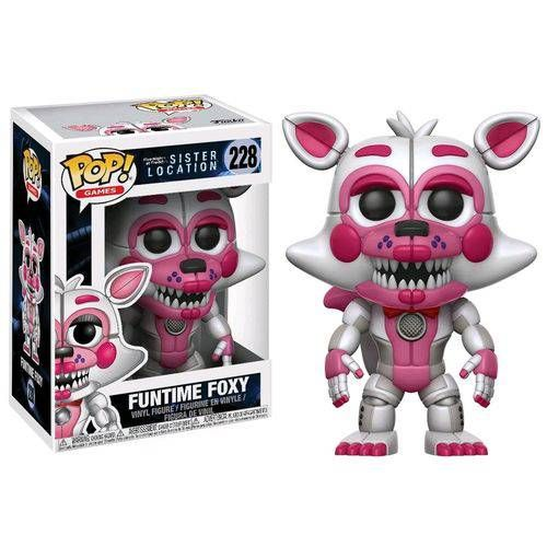 Funko! Pop Five Nights at Freddy's Sister Location Funtime Foxy #228
