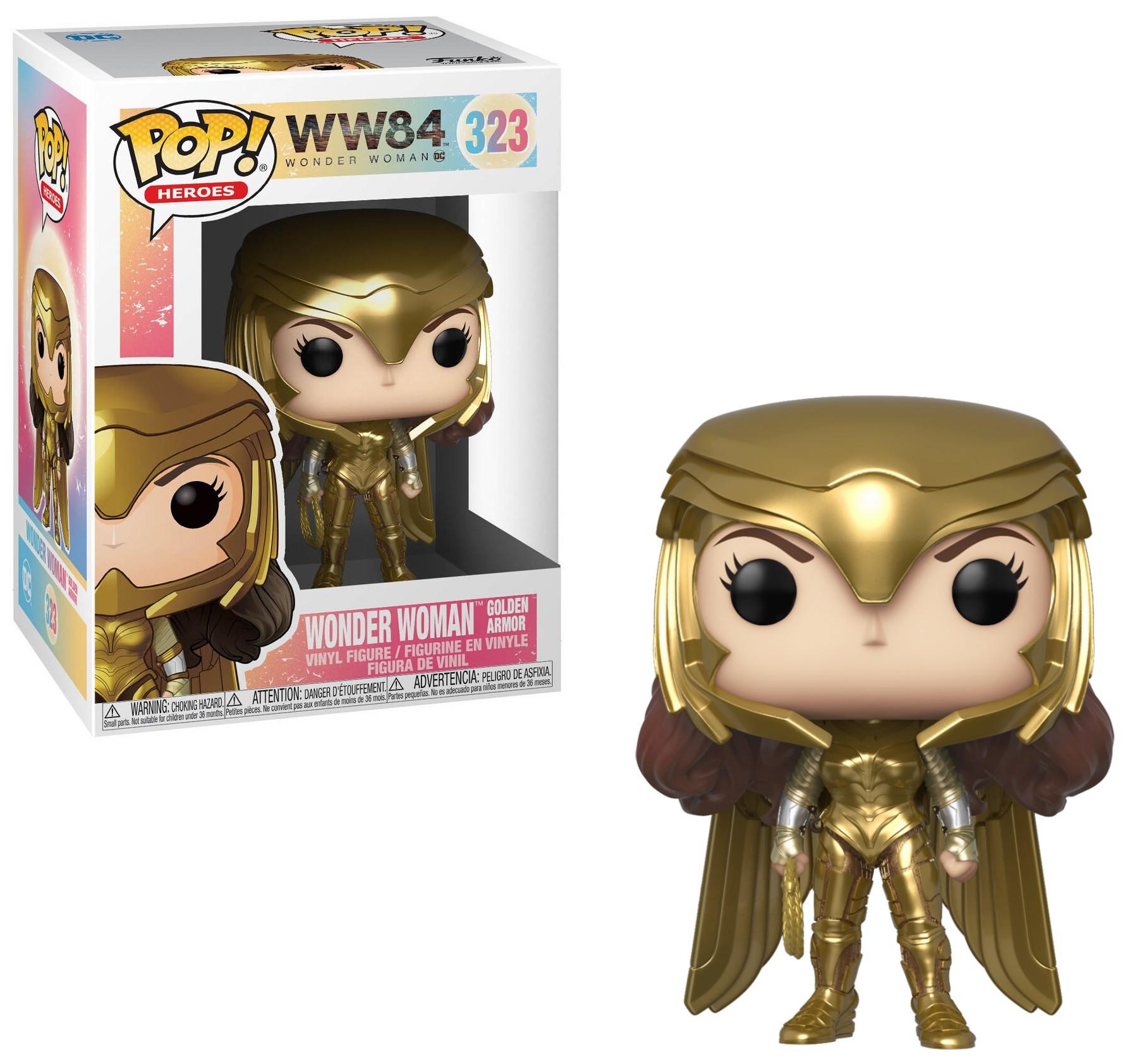 Funko POP! DC Wonder Woman 1984 Wonder Woman Golden Armor ver1 #323