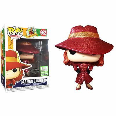 Funko! Pop Television Carmen Sandiego Exlusive Diamond #662