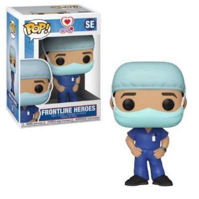 Funko POP! Frontline Heroes Male 1
