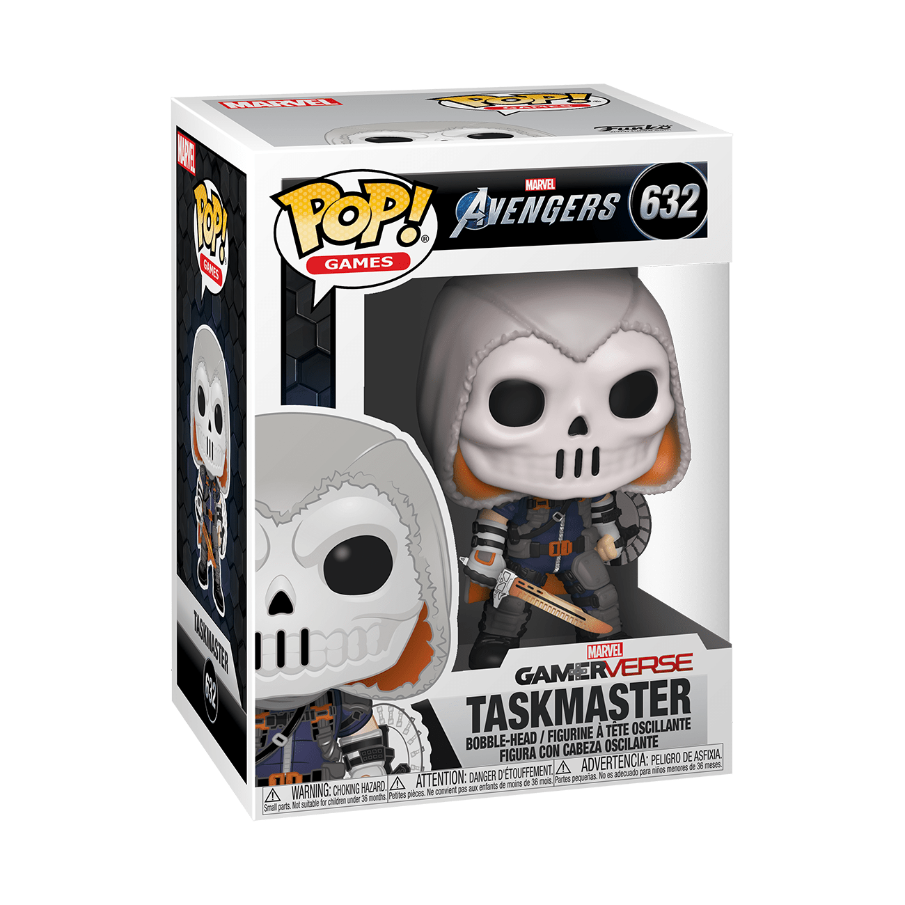 Funko! Pop Games Marvel Avengers GamerVerse Taskmaster #632