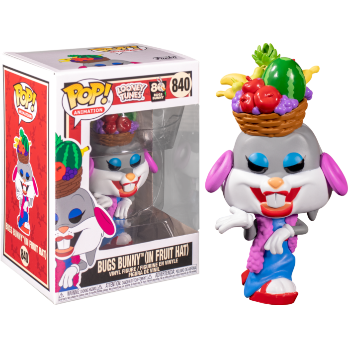 Funko POP! Looney Tunes Bugs Bunny (In Fruit Hat) #840