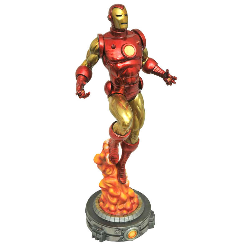 Figura Diorama Iron Man Classic Marvel Gallery 28cm PVC Diamond