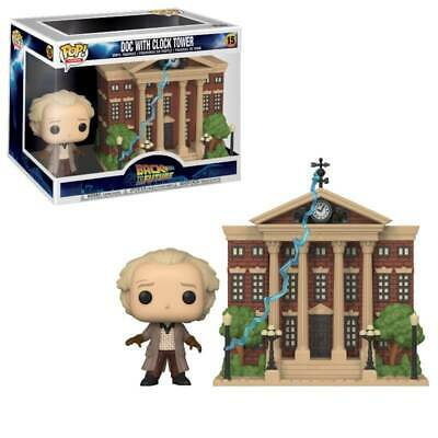 Funko POP! Town Back To The Future Doc With Clock Tower #15