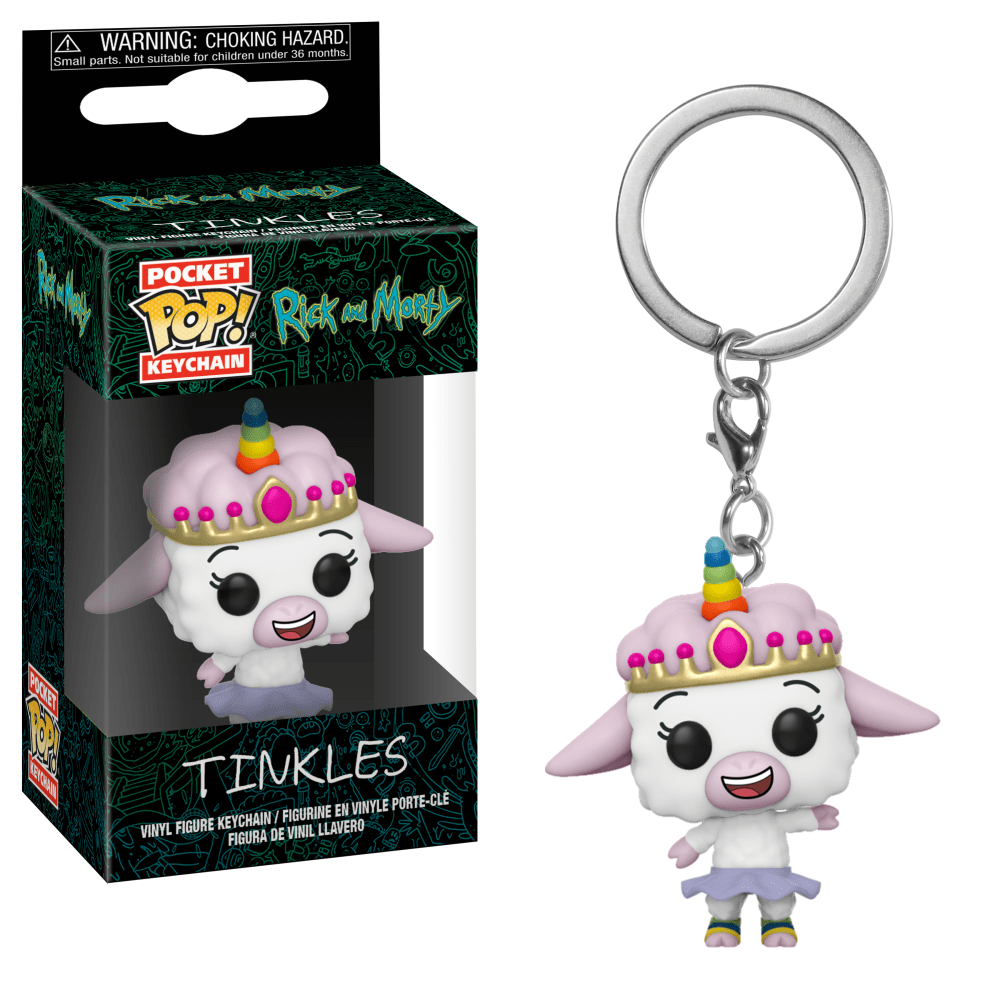 Funko Pocket POP! Keychain Rick And Morty Tinkles