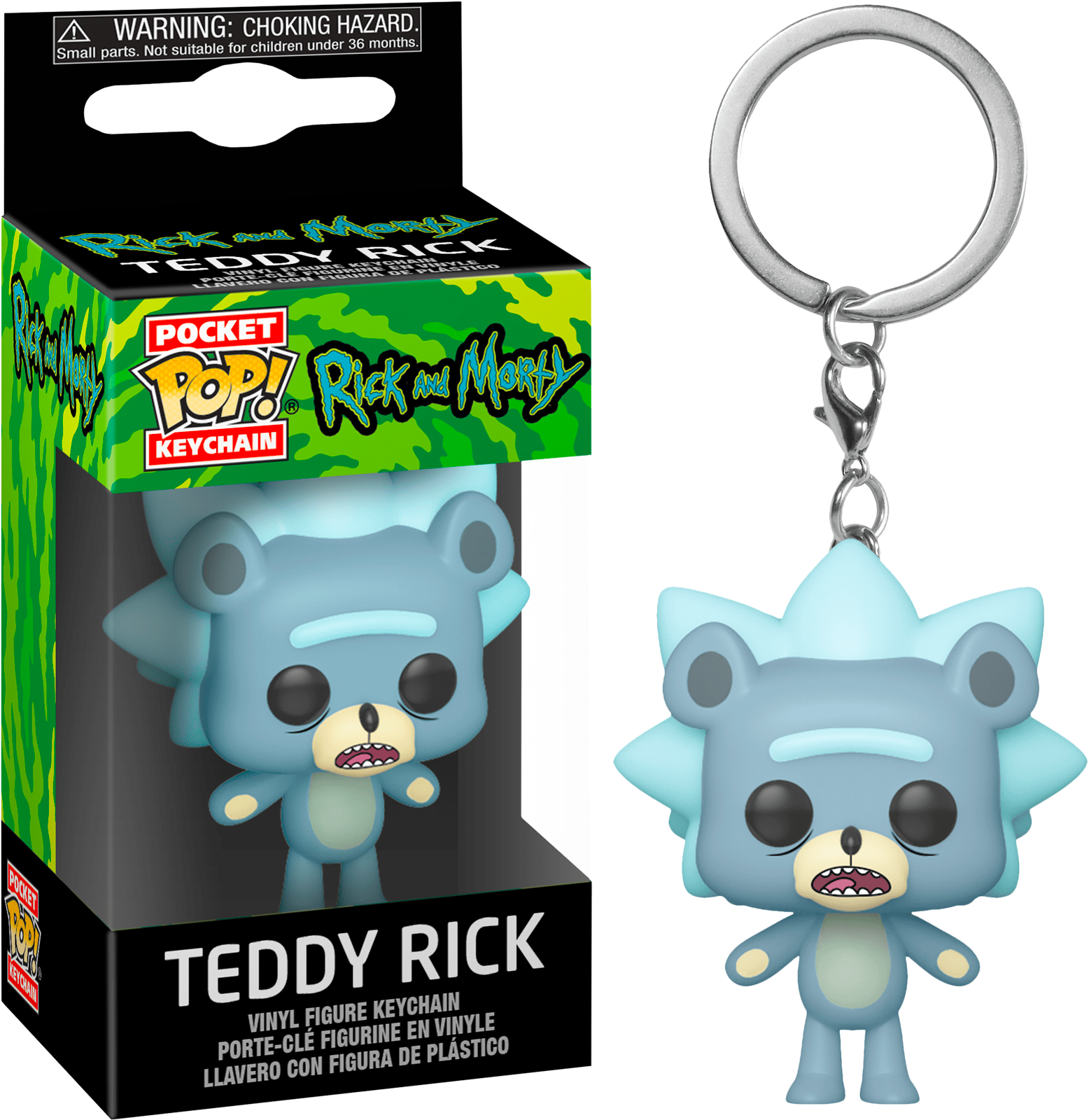 Funko Pocket POP! Keychain Rick And Morty Teddy Rick