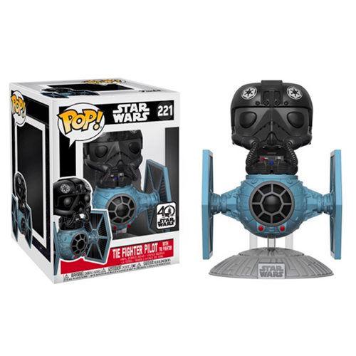 Funko! Pop Star Wars Tie Fighter Pilot With Tie Fighter #221