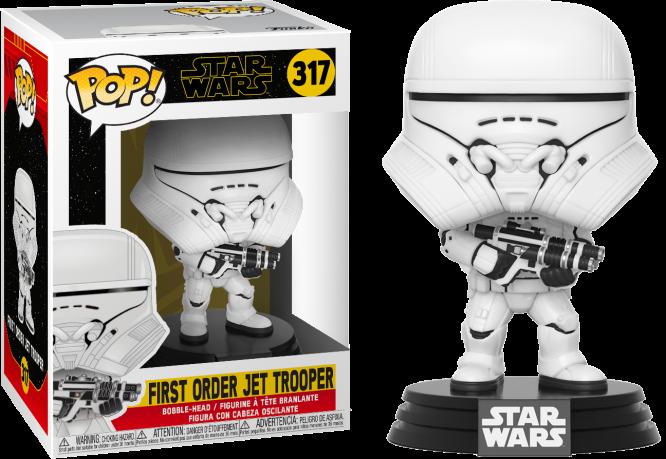 Funko! Pop Star Wars The Rise of Skywalker First Order Jet Trooper