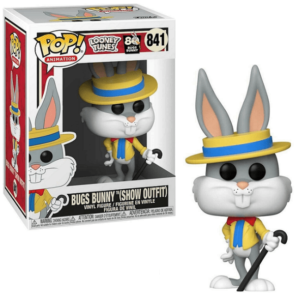 Funko POP! Looney Tunes Bugs Bunny (Show Outfit) #841
