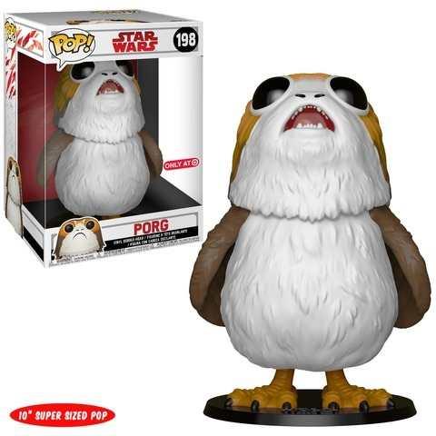 Funko! Pop Star Wars Porg 10 Polegadas Supersized #198