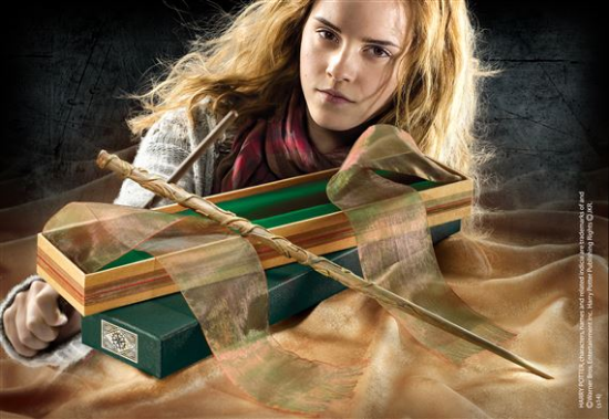 Hermione Granger Wand with Ollivanders Wand Box