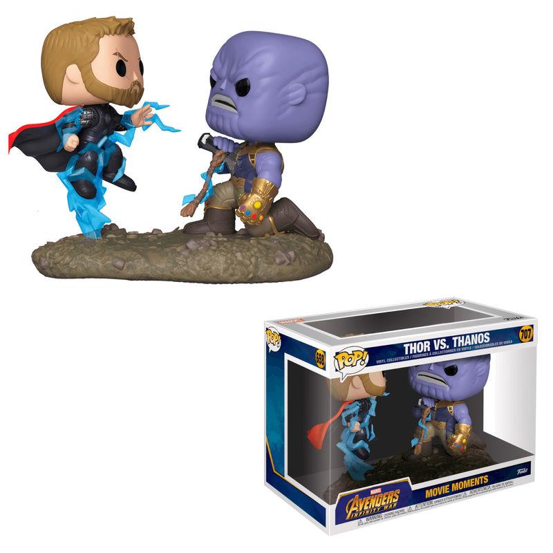 Funko! Pop Avengers Thor vs Thanos Movie Moment #707 (Caixa Ligeiramente Danificada)