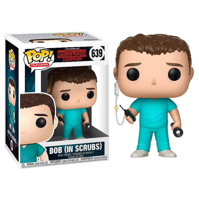 Funko POP! Stranger Things Bob in Scrubs #639