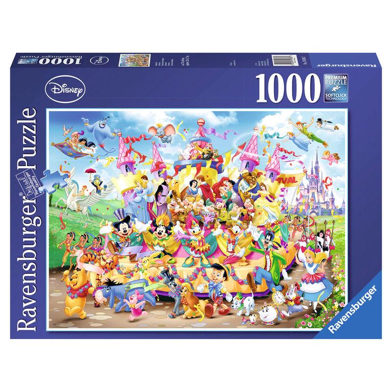 Puzzle Disney Carnaval 1000 Peças Ravensburger