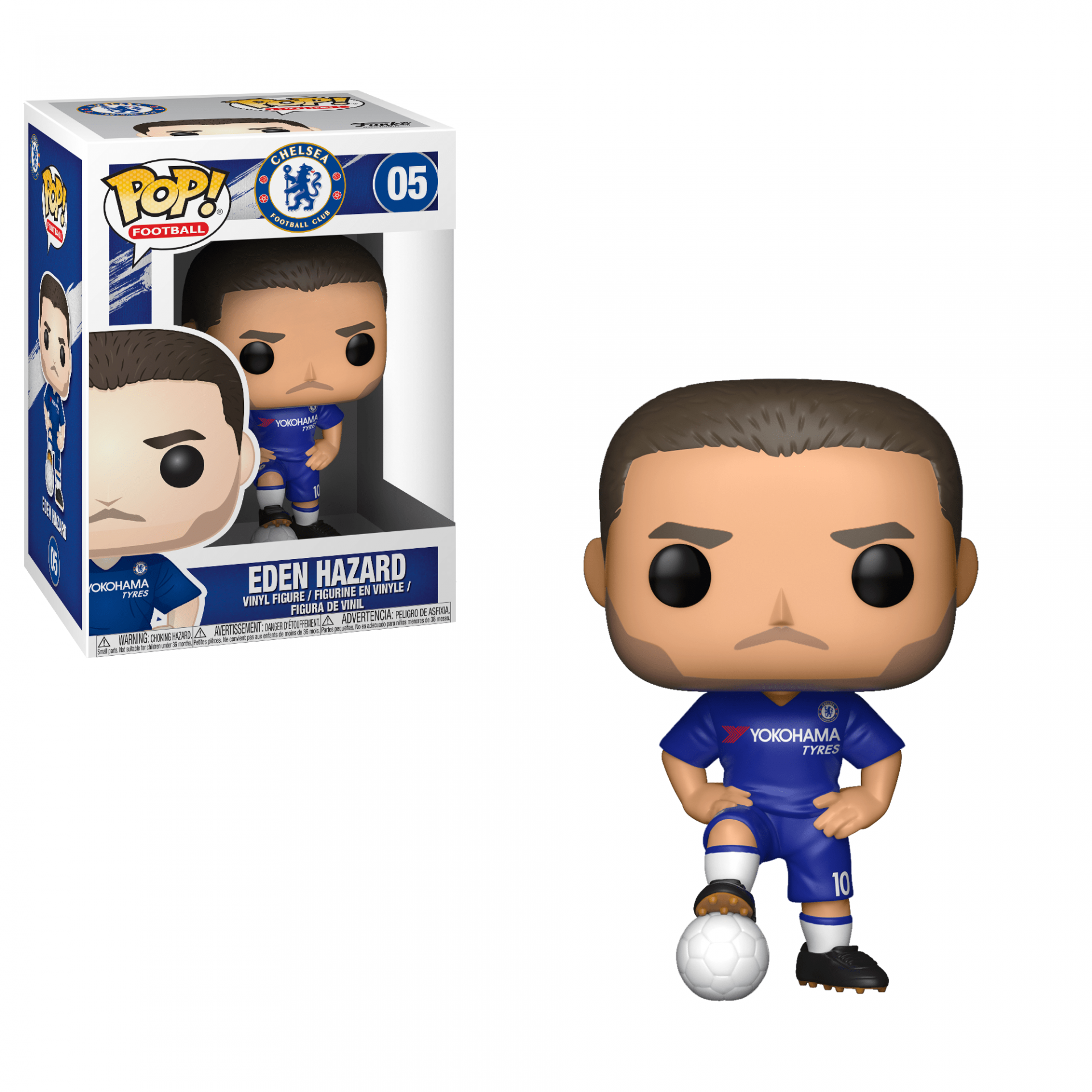 Funko Pop! Football Chelsea Eden Hazard #05