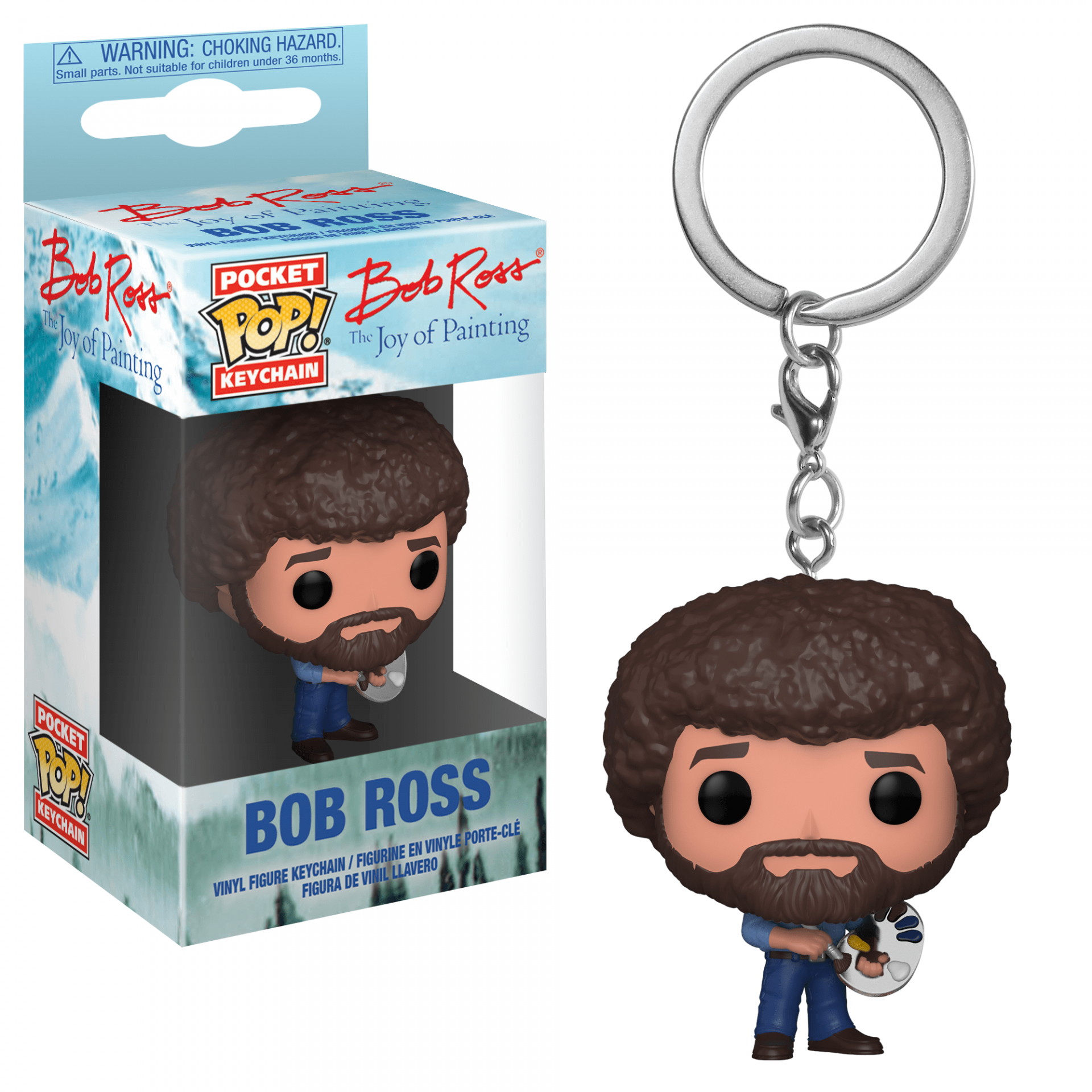 Funko Pocket POP! Keychain Bob Ross