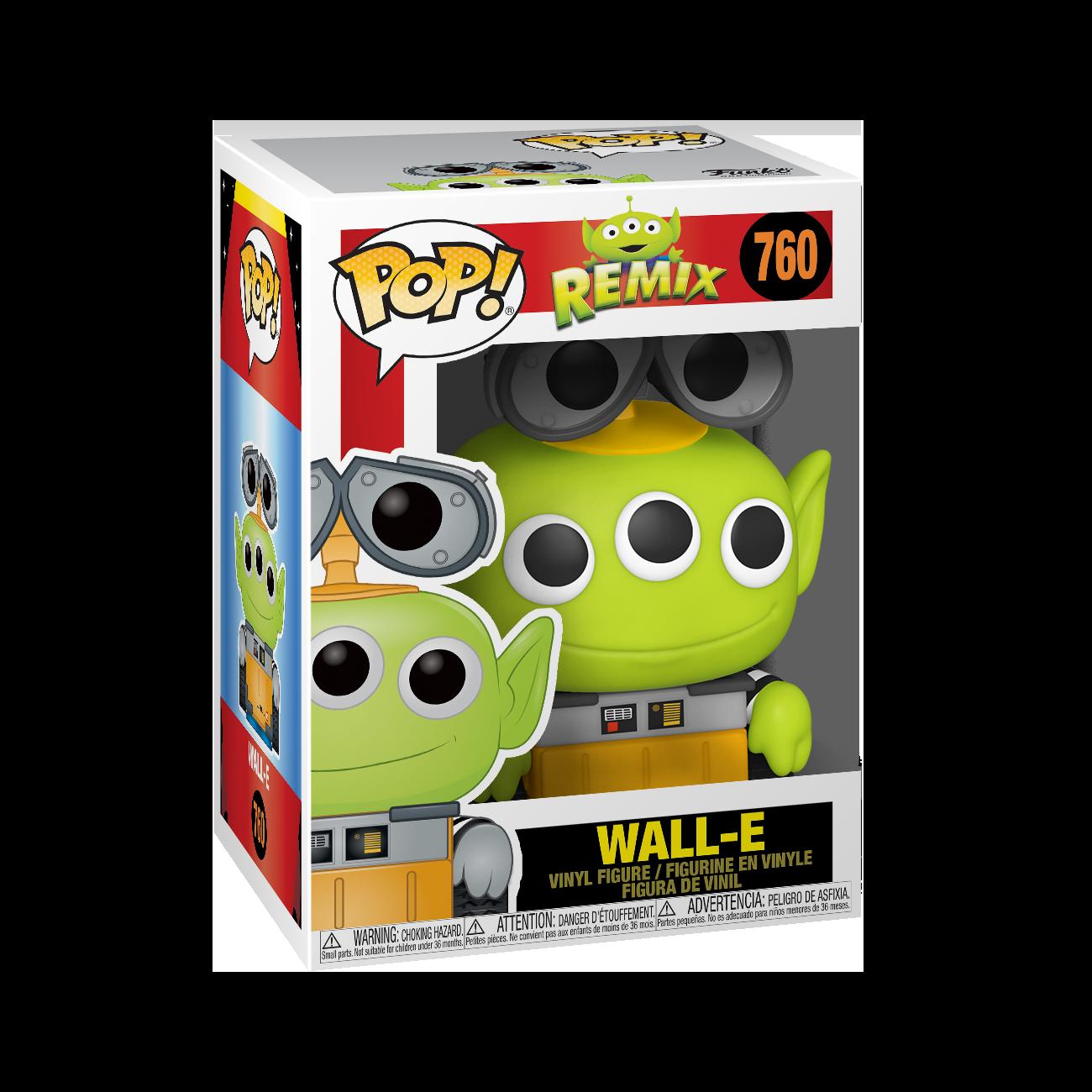 Funko POP! Disney Pixar Alien Remix Wall-E #760