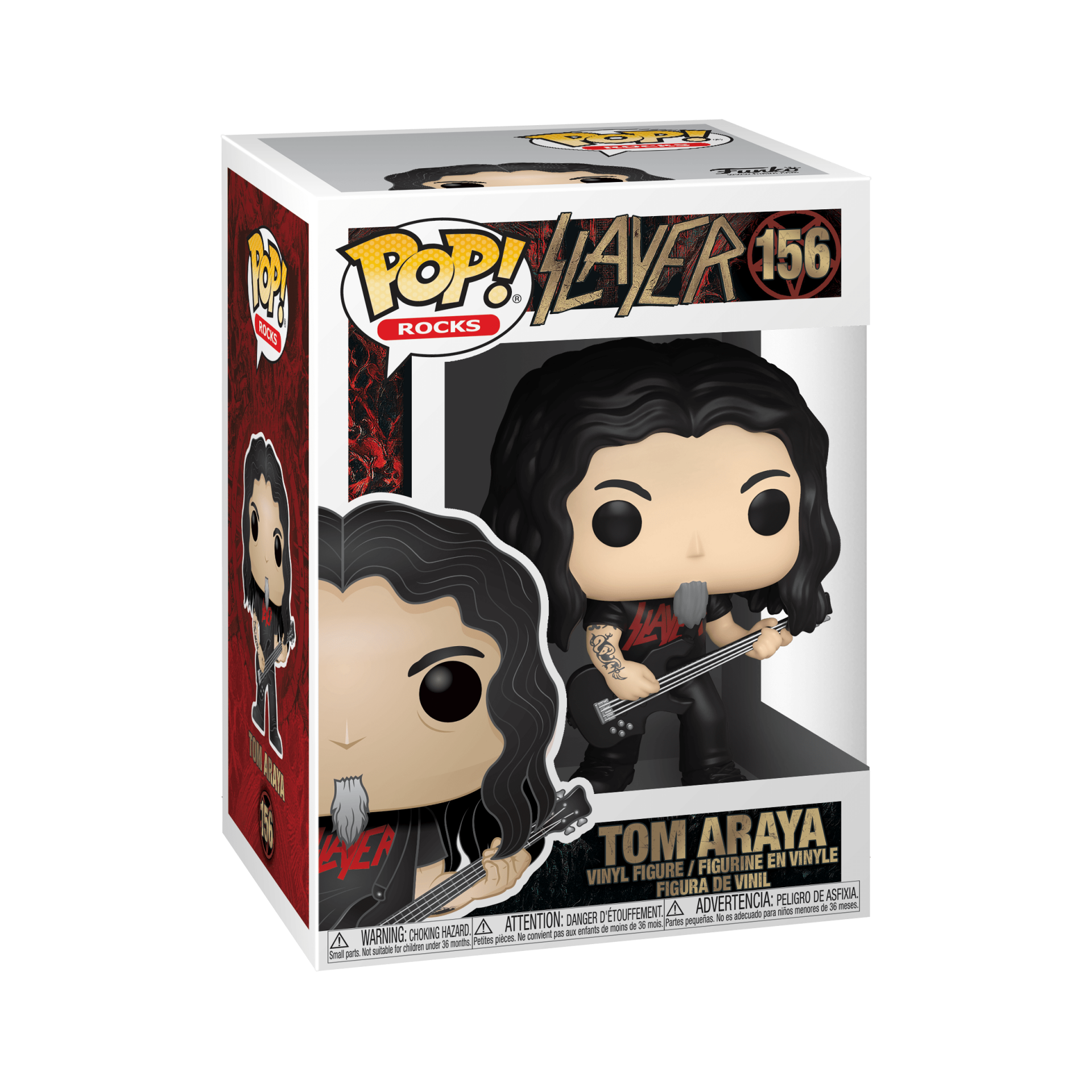 Funko! Pop Rocks Slayer Tom Araya #156