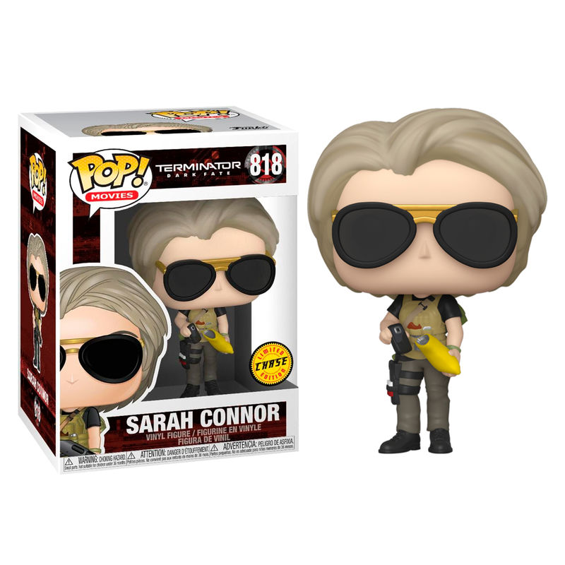 Funko! Pop Terminator Dark Fate Sarah Connor #818 Chase Version