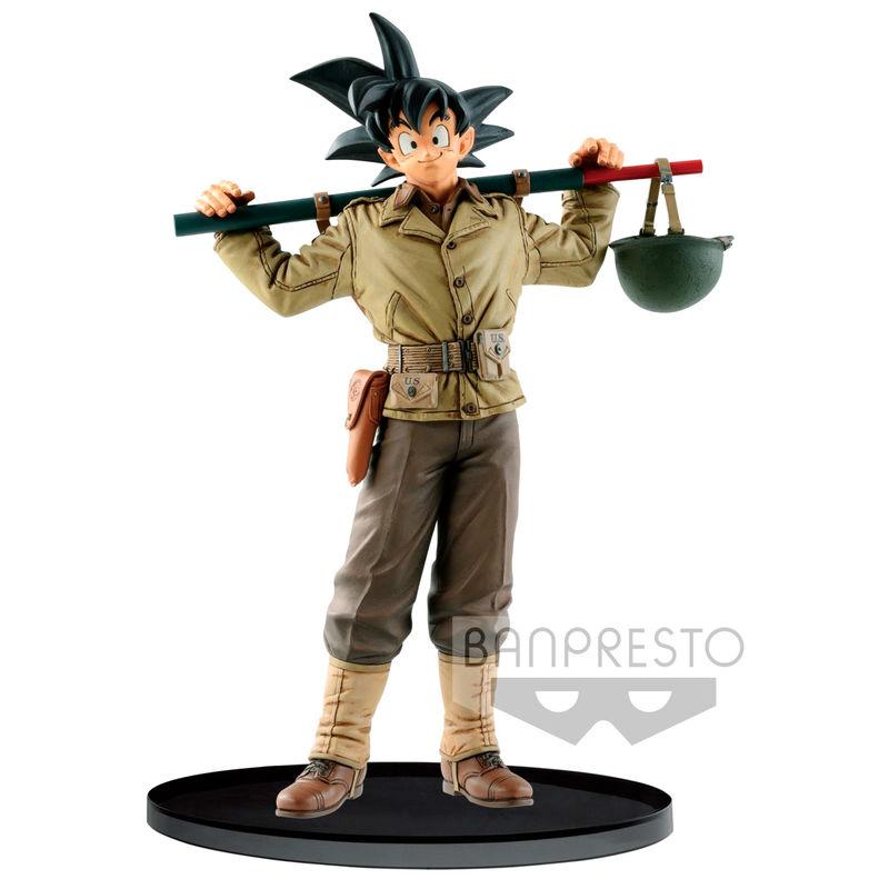 Figura World Colosseum Son Goku Dragon Ball Z 18cm Banpresto