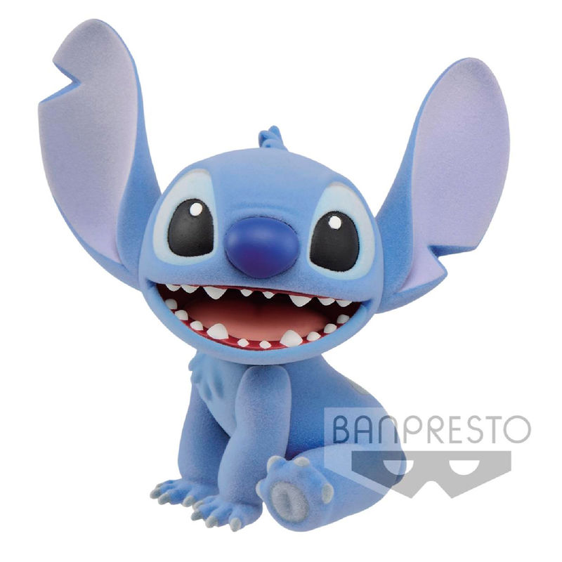 Figura Stitch Fluffy Puffy Disney Character Banpresto 9cm