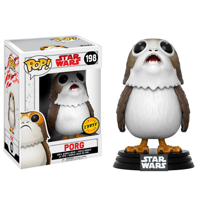 Funko! Pop Star Wars Porg Chase #198