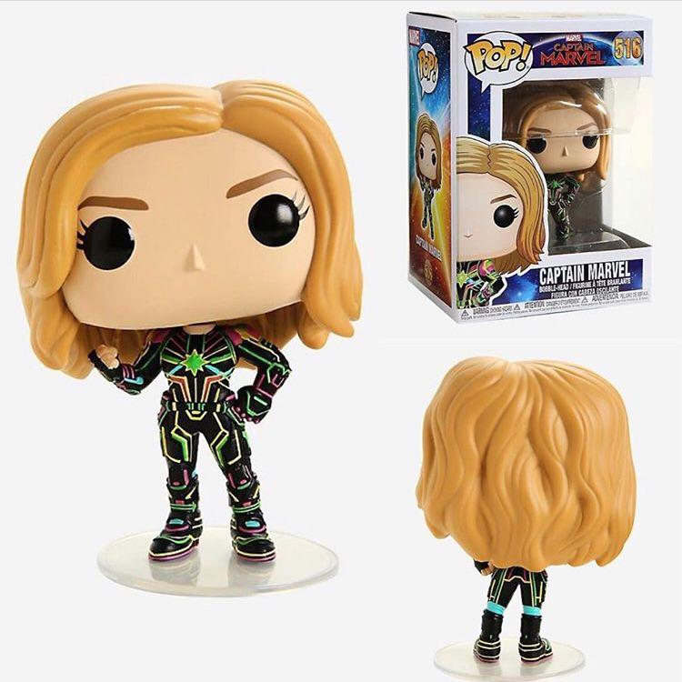 Funko! Pop Captain Marvel Captain Marvel Neon Suit