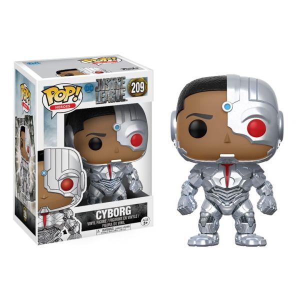Funko POP! Justice League Cyborg #209