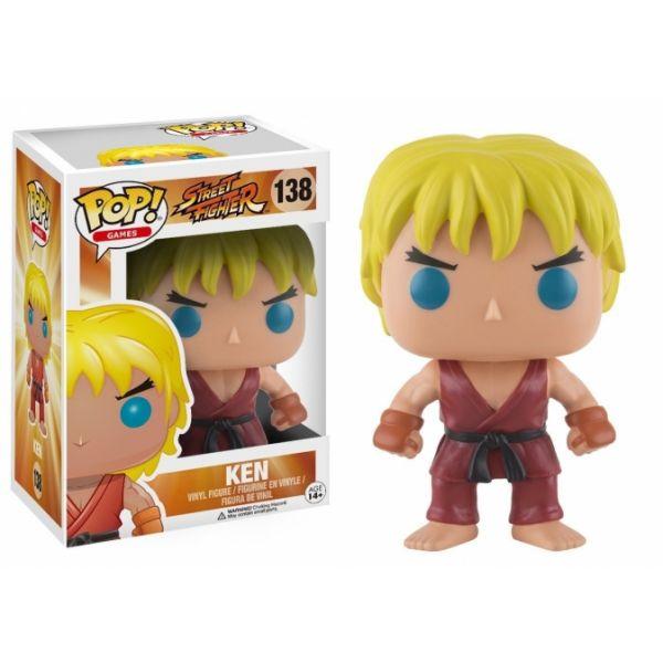 Funko! Pop Games Street Fighter Ken #138