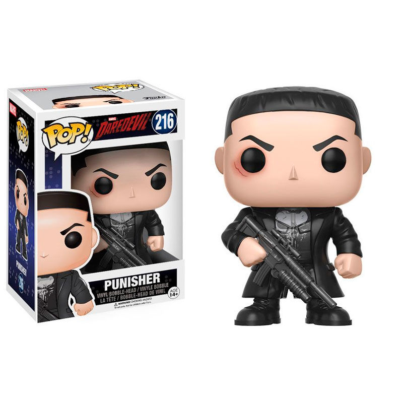 Funko! Pop Marvel Daredevil Punisher