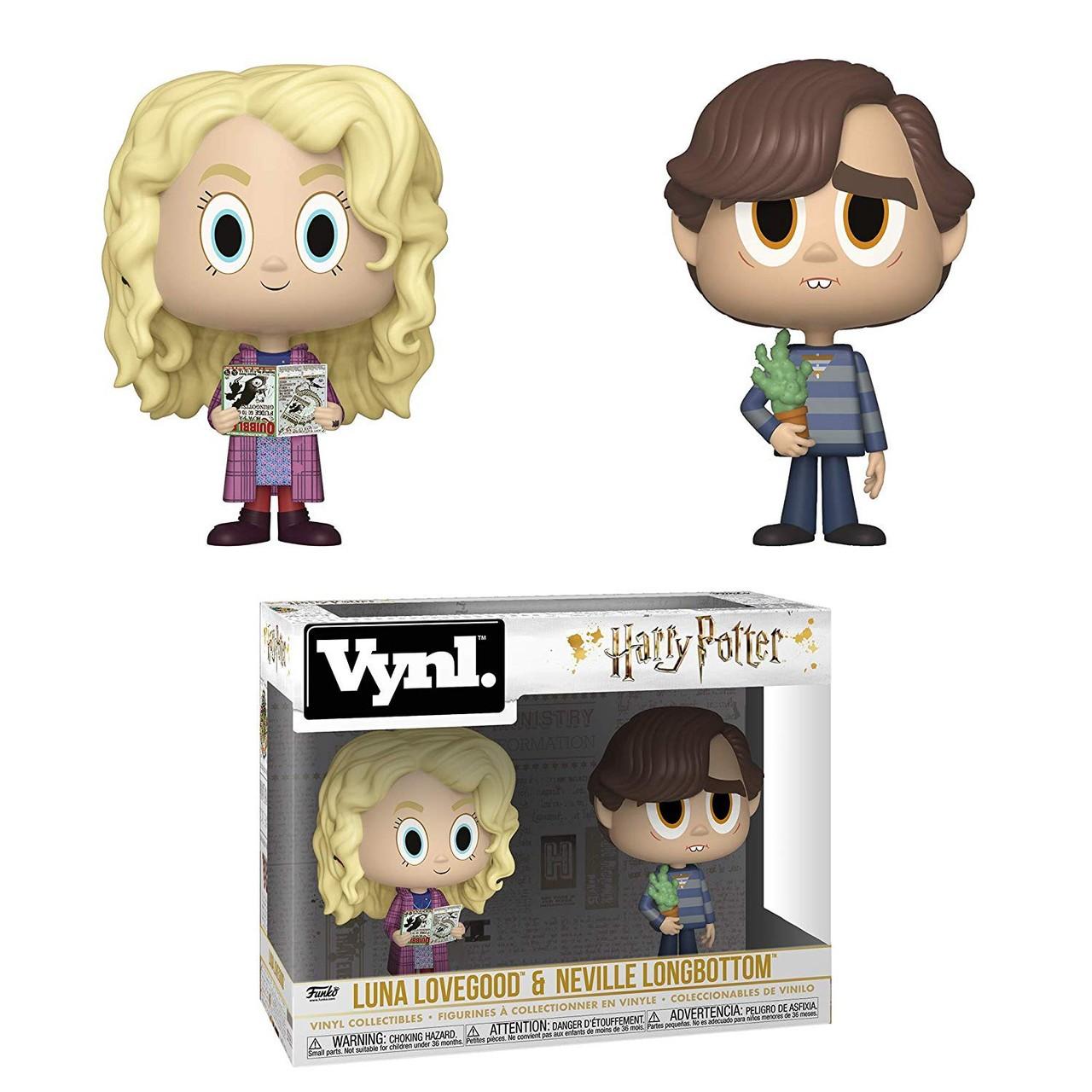 Funko! Vynl Harry Potter Luna Lovegood + Neville Longbottom
