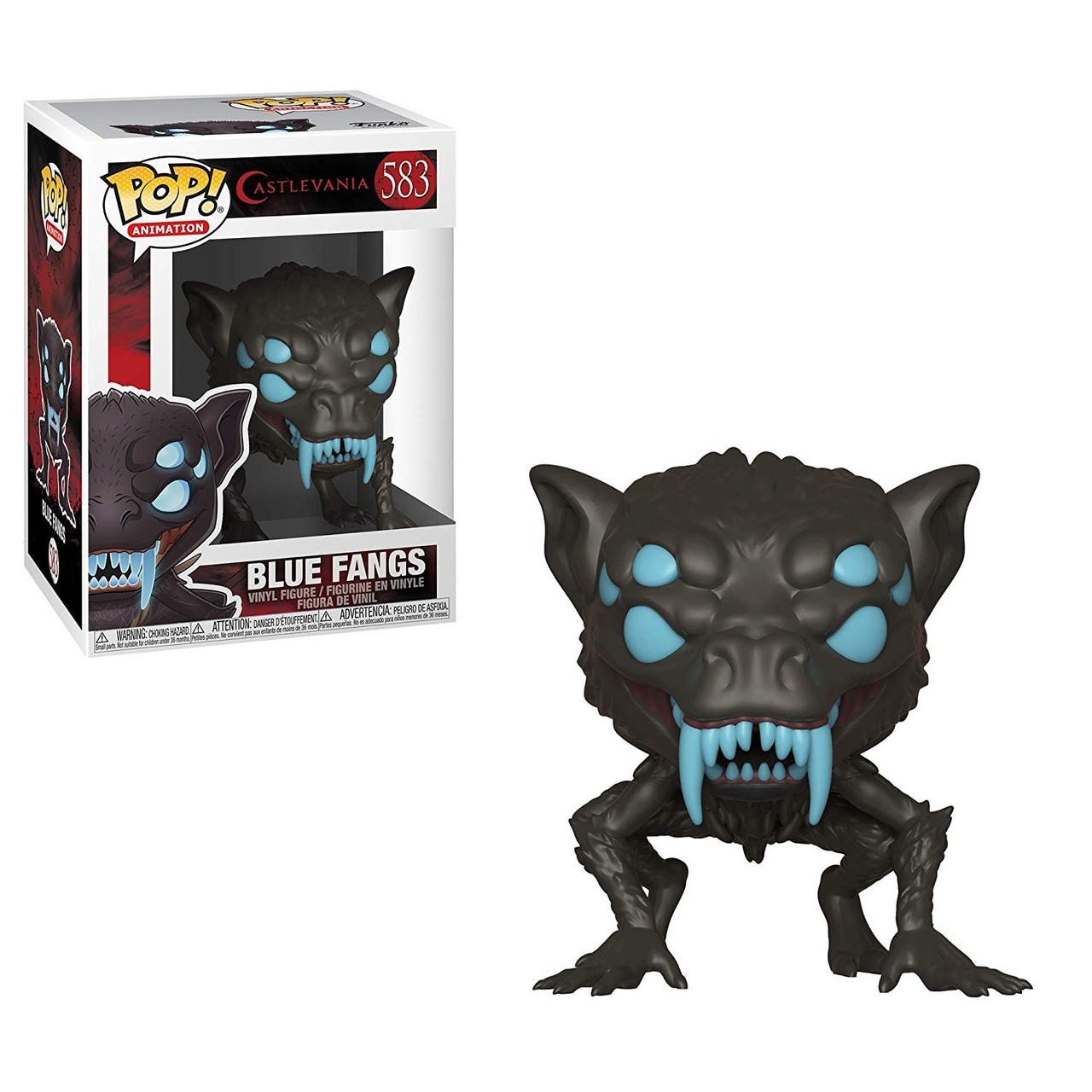 Funko POP! Castlevania Blue Fangs #583