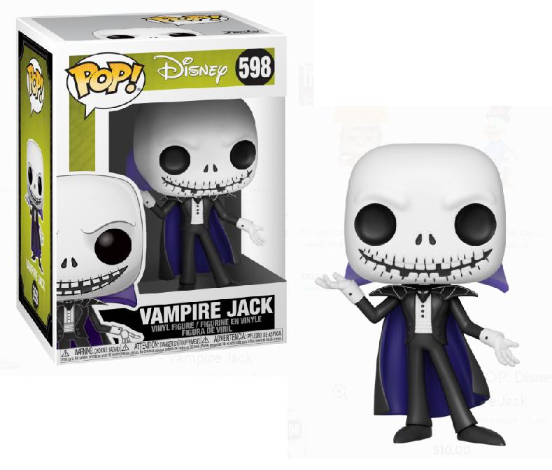 Funko! Pop Disney Nightmare Before Christmas Vampire Jack