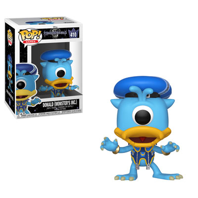 Funko! Pop Games Kingdom Hearts Donald (Monster's Inc.) #410