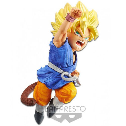 Figura Super Saiyan Son Goku Wrath of the Dragon Dragon Ball GT 13cm Banpresto