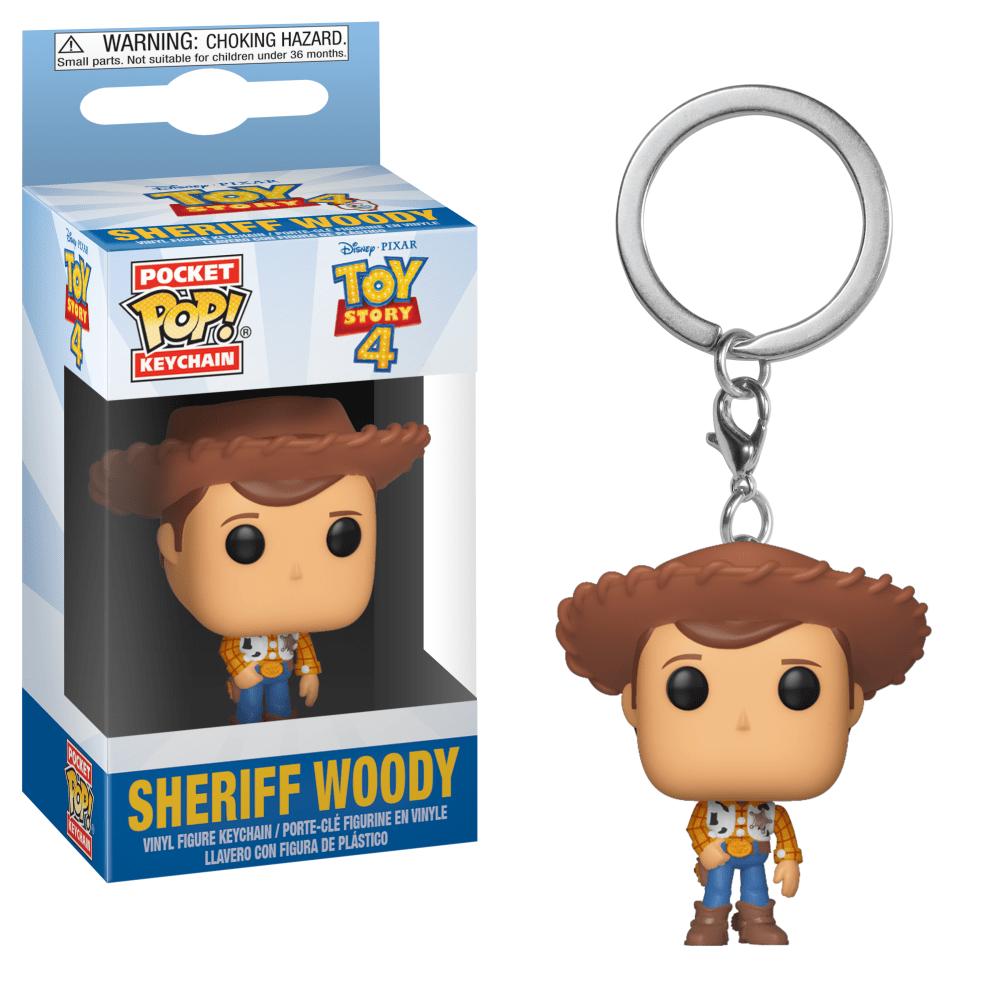Funko Pocket POP! Keychain Toy Story 4 Sheriff Woody