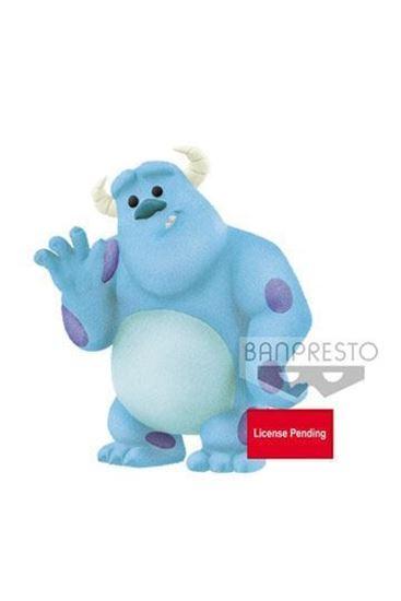 Figura Sulley Fluffy Puffy Disney Character Banpresto 5cm