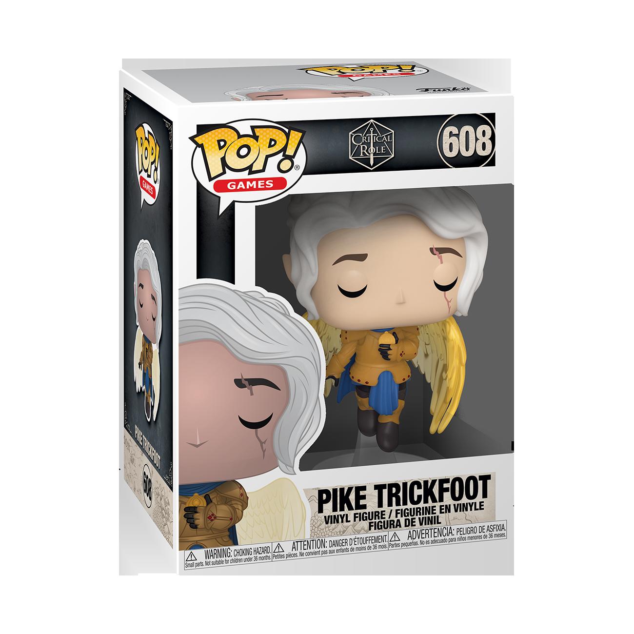 Funko POP! Games Critical Role Pike Trickfoot #608