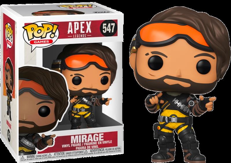Funko! Pop Apex Legends Mirage