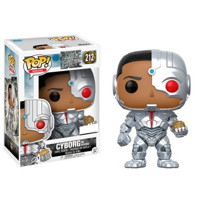 Funko POP! Justice League Cyborg With Motherbox #212 Exclusive