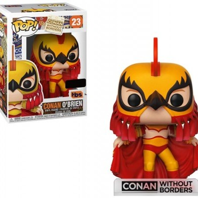Funko! Pop Conan Without Borders Conan O´Brien as Luchador Special Edition